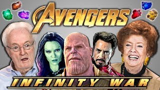 Video ELDERS REACT TO AVENGERS: INFINITY WAR TRAILER MP3, 3GP, MP4, WEBM, AVI, FLV September 2018