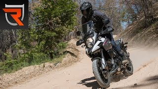 2. 2018 Suzuki V-Strom 1000 First Test Review Video | Riders Domain
