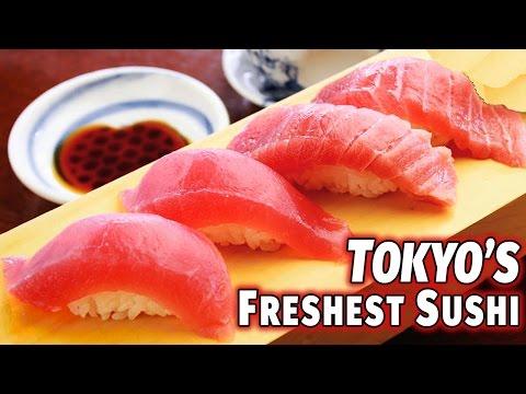 Tokyo's Freshest Sushi (Tsukiji Fishmarket) - Abroad in Japan