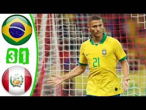 Brazil Vs Peru 3-1 Highlights All Goals Copa America 2019 | Brazil Vs Peru Live