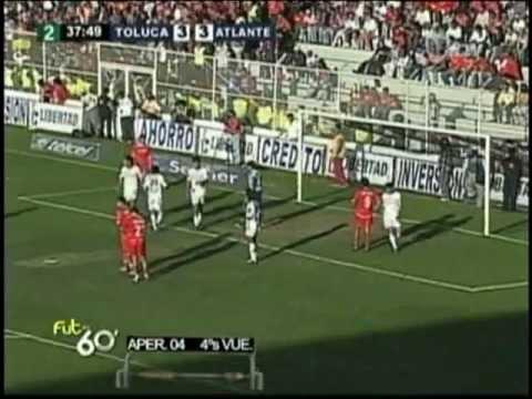 Toluca Vs. Atlante (3-4) Cuartos de Final Apertura 2004 ***Futbol Retro***