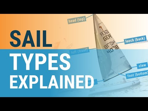 Different Sail Types Explained (9 Types of Sails)