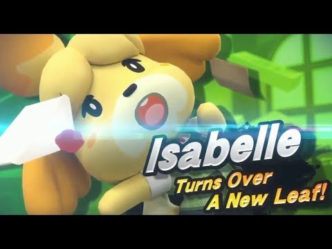 ISABELLE SMASH REVEAL + Animal Crossing Switch REACTION!