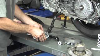 10. Malossi Variator Kit Installation for Piaggio BV350