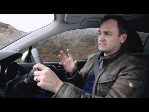 Former Stig Ben Collins test drives the Subaru Outback