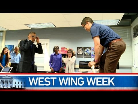 """West Wing Week: 05/10/13 or """"I Dare You to Do Better"""""""