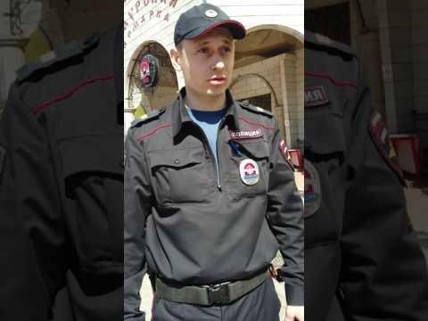 Задержание активиста за одиночный пикет. Благовещенк 30.04.2017