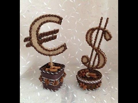 Поделки с кофейными зернами своими руками фото