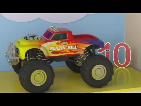 Мультфильм про машинки и паровозики. Учим цифры с паровозиком Максом от 1 до 10 (видео)