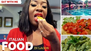 Hello loves, I tried out some Italian food a few weeks ago at Le Veranda Restaurant, Blowfish Hotel, Lagos and I thought it would be a great idea to take you along with me as I sampled the dishes. Do you like Italian food? I had a few favourites! So here it is, Nigerians eating Italian Food! If you are not subscribed join the family by clicking http://bit.ly/1mq1DGq and let's be friends on Instagram https://instagram.com/sisi_yemmie . If you miss me during the week, you will find me on my blog http://www.sisiyemmie.com Send me an email, I'd love to read from you sisi@sisiyemmie.com (FOR BUSINESS: business@sisiyemmie.com)Location: Lagos, Nigeria (West Africa) I'm a Nigerian Food and Lifestyle Blogger documenting bits of every other day in my life with my son, Tito and husband Bobo.