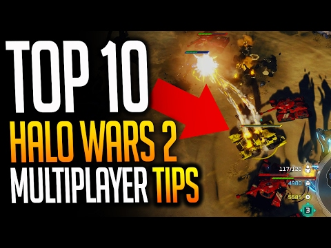 Top 10 Halo Wars 2 Multiplayer Tips