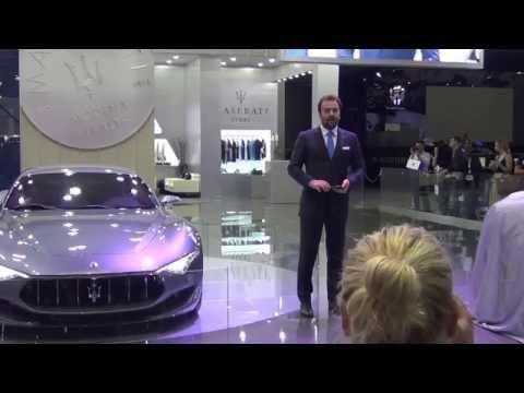 Maserati - Dubai International Motor Show 2015