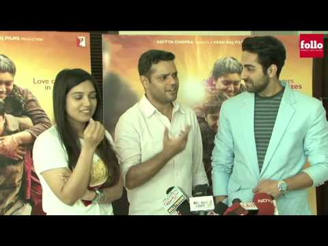 Press Meet of National Award winning team Dum Laga Ke Haisha