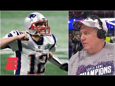 Bill Belichick praises Tom Brady and explains how Patriots' defense silenced Rams | Super Bowl LIII