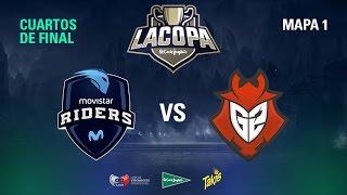 Movistar Riders VS G2 Vodafone - Copa El Corte Inglés - Cuartos de Final - Mapa 1