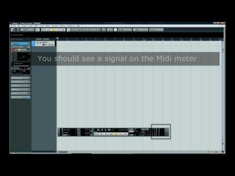 [Cubase Tutorials] – Step 1 – How to configure Cubase for first use ?