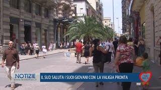 IL SUD SALUTA I SUOI GIOVANI CON LA VALIGIA PRONTA.