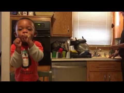 David Stewart from Tyler Perry's Madea's Neighbors from Hell and Madea on the Run sings with his 2 year old son!