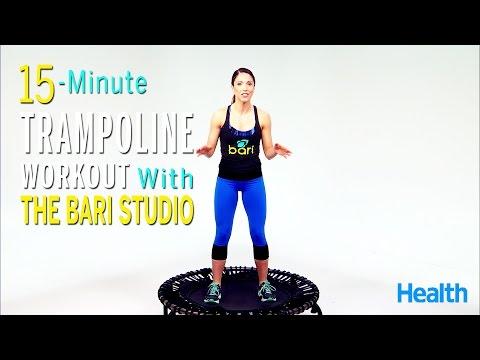 15-Minute Trampoline Workout | Follow-Along Fitness | Health