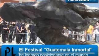 El artista Max Leiva habla sobre el Festival de Escultura