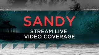 Sandy Hurricane crisis map YouTube video