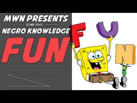 knowledge - Fun ... Remember what that is? ------------------------------------------- My Site - http://ModernWarNegro.com Live Streams - http://Twitch.tv/TheBlackHokage Shirts/Hoodies - http://teespring.com/M...