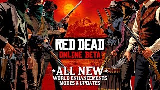Red Dead Online Beta Update