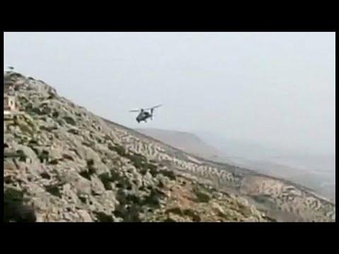 Türkischer Helikopter bei Afrin abgeschossen