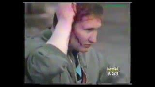 Policja kontra kibice w latach '90, to się nazywa rozp*ol!