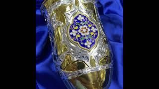 Серебряный бокал «Финифть»