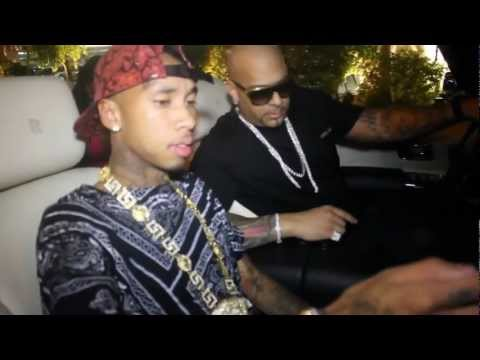 Tyga w Mally Mall @ 1 OAK Labor Day Weekend Las Vegas