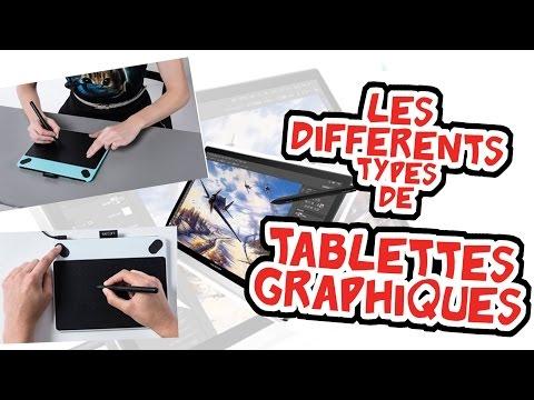 PRESENTATION Tablettes graphiques WACOM / HUION