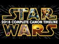 Star Wars: The Complete Canon Timeline (2018)