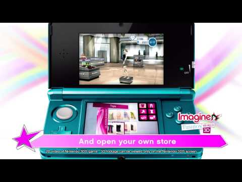 imaginefashion - Imagine®, the original Games for Girls brand, is introducing a brand-new ultra-realistic fashion game on the Nintendo 3DS™ system where players can experienc...