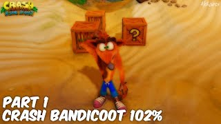 I realise that I forgot to make a proper intro but that's because I was too excited for Crash Bandicoot N. Sane Trilogy! Crash is back and is all shiny and High Def for the PS4. I will be playing through all three Crash Bandicoot games contained in the N. Sane Trilogy and I will be fully completing each one! Come and join me on my playthrough :)Please leave a rating and a comment on the video to let me know what you thought and share and subscribe if you enjoyed it! ▽ MORE ALEXARCS HERE ▽► SUBSCRIBE HERE -- http://bit.ly/1z36r4K► TWITTER -- http://bit.ly/1MM4KQr► FACEBOOK -- http://on.fb.me/1NTGZ9m► TUMBLR --  http://bit.ly/2mwxhlX