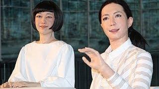【リアルすぎる!!】世界初のアナウンサーアンドロイド誕生!!