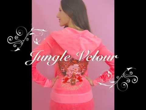 Juicy Couture Jungle Velour Hoodie and Tracksuit Pants