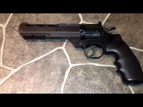Crosman  .357 magnum Co2 air pistol  review