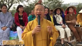 Hành hương Phật tích- Trại giam vua Tần-bà-sa-la - TT. Thích Nhật Từ