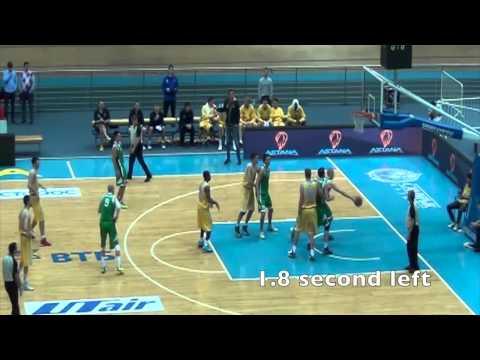 Обзор матча 'Астана' - 'Барсы' - 87:68