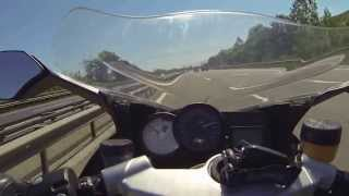 10. BMW K1200S Top Speed 295 km/h (up to the limit !)