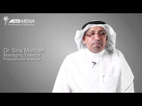 ASTD MENA 2013 - Dr. Siraj M. Malibari