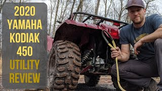 7. Log Pulls with the 2020 Yamaha Kodiak 450 | Utility Review