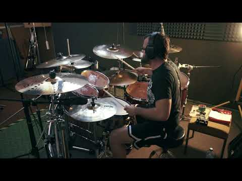 ČAD - Zlá burina (drums recording, 2017)