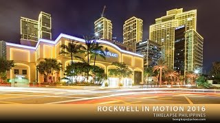 Rockwell Center, Makati CityPhilippinesPart 2 of the timelapse project produced in 2011 (Rockwell in Motion). Over 30,000 shots using Canon 5D Mark II, III & IV with various canon lenses. DP Motorized Dolly, Genie and Genie Mini for pan and tilt, Brampers for day-to-night transitions, DIY motion-control equipment and drone camera.Enjoy it in HD with sound turned loud.All rights reserved. Please do not use or copy without the author's permission. bongbajo@yahoo.com