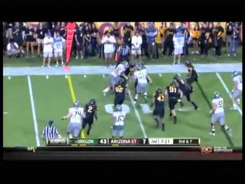 Carl Bradford vs Oregon 2012 video.