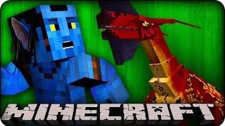 Minecraft - AVATAR MOBS&HUGE EPIC DUNGEONS - Orespawn Mod / CrazyCraft - Showcase