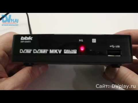 BBK SMP136HDT2 - обзор DVB-T2 ресивера