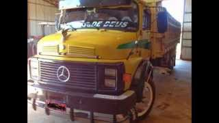 Caminhão Mercedes Benz 1113 Ano 1978 Amarelo