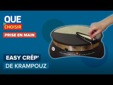 L'étaleur Easy Crêp' de Krampouz - Prise en main